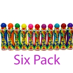 Six Pack 3oz Dab-O-Ink Bingo Dauber