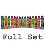 4oz Bingo Brite Bingo Dauber Full Set (Fifteen Colors)