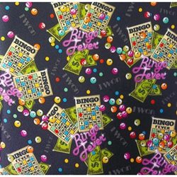 Flashy Bingo Fever 10-pocket Dauber Bag Vinyl