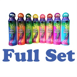 3oz Super Bright Bingo Dauber Full Set (Eight Colors)