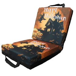 Halloween Double Seat Cushion with Flap