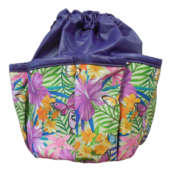 Garden Butterfly 10-pocket Dauber Bag Vinyl