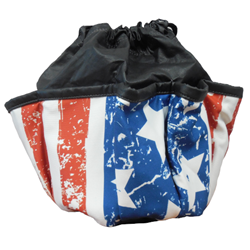 Flag 10-pocket Dauber Bag Vinyl