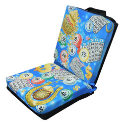 Bingo Pot of Gold Double Seat Cushion with Flap