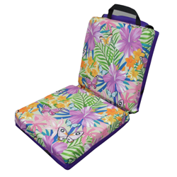 Garden Butterfly Double Seat Cushion with Flap