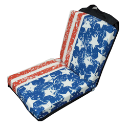 Flag Double Seat Cushion with Flap