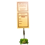 Flippy the Frog Ticket Holder