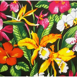 Hawaiian Flower 10-pocket Dauber Bag Vinyl