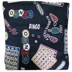 Bingo Collage Tote Bag