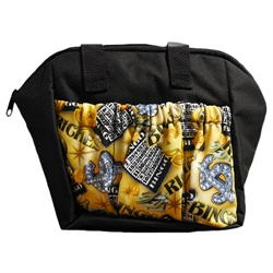 Bingo Riches 6-pocket Tote Bag Black